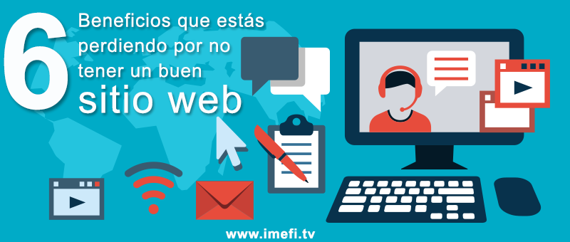 imefi tv - beneficios de contar con un sitio web